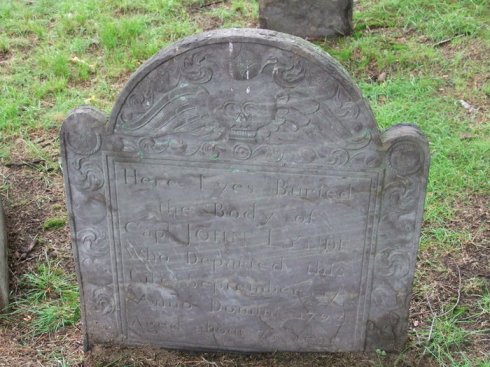 Capt John Lynde 1723